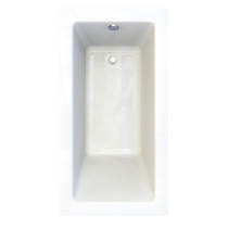 "American Standard Studio Drop-in 60"" x 32"" Zero-Edge Profile Bathtub"