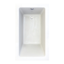 "American Standard Studio Drop-in 60"" x 36"" Zero-Edge Profile Bathtub"