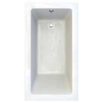 "American Standard Studio Drop-in 66"" x 36"" Zero-Edge Profile Bathtub"