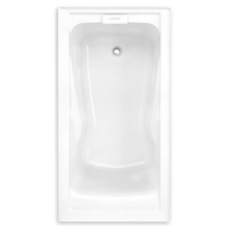 "American Standard Evolution II with Integral Apron 60"" x 30"" Bathtub Left Hand"