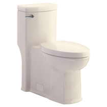 American Standard Boulevard FloWise Right Height Elongated One-Piece 1.28 gpf Toilet Linen