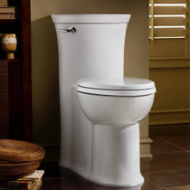 American Standard Tropic FloWise Right Height Elongated One-Piece 1.28 gpf Toilet White