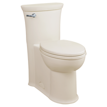 American Standard Tropic FloWise Right Height Elongated One-Piece 1.28 gpf Toilet Linen