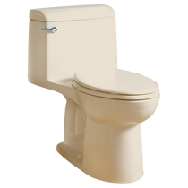 American Standard Champion 4 Elongated Right Height One-Piece Toilet 1.6 GPF with Seat Bone