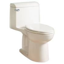 American Standard Champion 4 Elongated Right Height One-Piece Toilet 1.6 GPF with Seat Linen