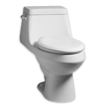 American Standard Fairfield Elongated One-Piece Toilet with Seat White
