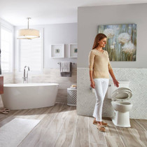 American Standard ActiClean Right Height Elongated Complete Toilet White
