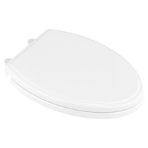 American Standard Traditional Elongated Luxury Toilet Seat White