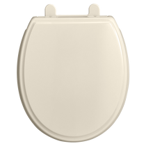 American Standard Traditional Round Front Luxury Toilet Seat Linen