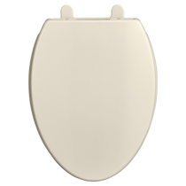 American Standard Transitional Elongated Luxury Toilet Seat Linen