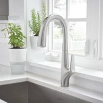 American Standard Avery Selectronic Hands-Free Pull-Down Kitchen Faucet Stainless Steel