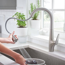 American Standard Avery Pull-Down Kitchen Faucet Stainless Steel