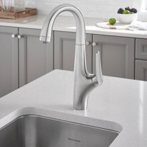 American Standard Avery Pull-Down Bar Faucet Stainless Steel