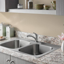 American Standard Colony Pro Single-Handle Kitchen Faucet Stainless Steel
