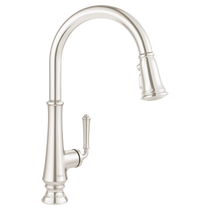 American Standard Delancey Single-Handle Pull-Down Kitchen Faucet Polished Nickel