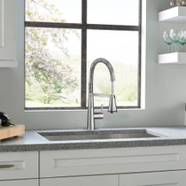American Standard Edgewater Semi-Professional Kitchen Faucet with SelectFlo Polished Chrome