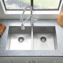 American Standard Edgewater Semi-Professional Kitchen Faucet with SelectFlo Stainless Steel