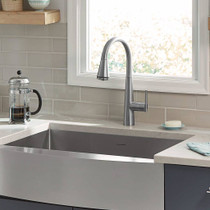 American Standard Edgewater Pull-Down Kitchen Faucet with SelectFlo Stainless Steel