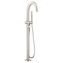 American Standard Contemporary Round Freestanding Tub Filler for FLASH Rough-In Valve
