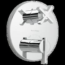 American Standard Boulevard Thermostatic Shower Valve Trim Kit Polished Chrome