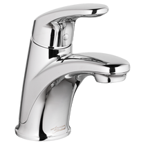 American Standard Colony Pro Single-Handle Bathroom Faucet without drain  pop-up hole  and rod - 1.2 GPM Polished Chrome