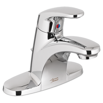 American Standard Colony PRO Single-Handle Bathroom Faucet with Metal Drain Polished Chrome