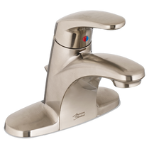 American Standard Colony Pro Single Control Centreset Faucet with 50/50 drain Brushed Nickel