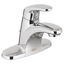 American Standard Colony Pro Single Control Centreset Faucet with pop up hole and rod Polished Chrome