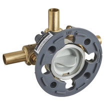 American Standard Flash Shower Rough-In Valve with Stub-Outs with Screwdriver Stops
