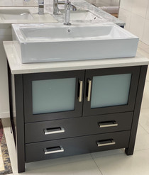 "Wilson 36"" Bathroom Vanity Espresso *Display Only 1*"