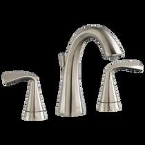 American Standard Fluent Two-Handle Widespread Bathroom Faucet Brushed Nickel
