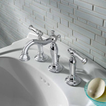 American Standard Quentin 2-Handle 8 Inch Widespread Bathroom Faucet Polished Chrome