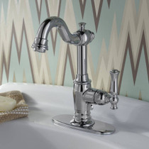 American Standard Quentin 1-Handle Monoblock Bathroom Faucet Polished Chrome