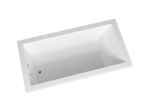 "Zitta Calos 72"" x 36"" Drop-in Bathtub Left Hand"