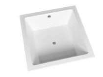 "Zitta Calos 2 62 3/4"" x 62 3/4"" x 21"" Drop-in Bathtub"