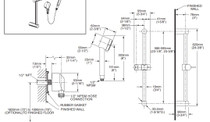 American Standard Serin Complete Hand Shower Kit Brushed Nickel