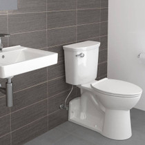 American Standard Yorkville VorMax Right Height Elongated Toilet