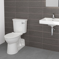 American Standard Yorkville VorMax Right Height Elongated Toilet - Right Hand Trip Lever