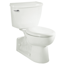 American Standard Yorkville 1.1 gpf FloWise Right Height Elongated Pressure Assisted Toilet White