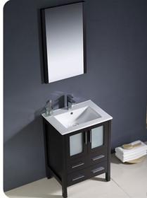 """Bello 24"""" Bathroom Vanity Espresso"""