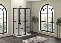 Zitta Mecanex Sliding Shower Door, On Wall