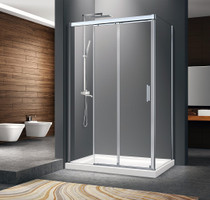 Zitta Caldara Corner Sliding Shower Door