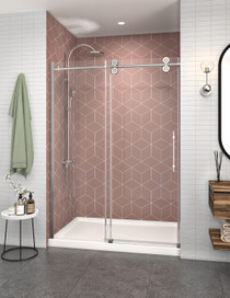 Zitta Matrix Alcove Rolling Shower Door