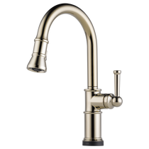 Brizo Artesso Single Handle Pull-Down Kitchen Faucet with SmartTouch Technology