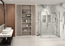 Zitta Slim Alcove and Corner Shower Doors
