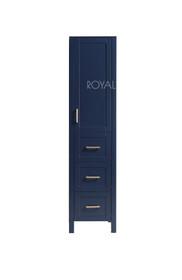 """Armada Side Column Linen Tower Blue 24"""" W x 78"""" H x 22"""" D"""