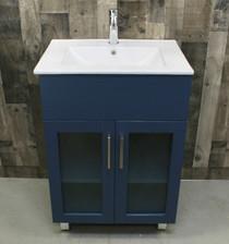 """Jane 30"""" Bathroom Vanity in Blue"""