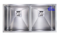 Castle Bay Atlantic 50/50 Undermount Sink