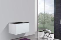 """Modena 35"""" Wall Mount Bathroom Vanity Undrilled Top"""