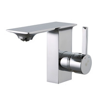 Royal Dayna Bathroom Faucet with Side Lever in Chrome